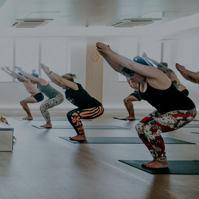 hot yoga class in staines surrey